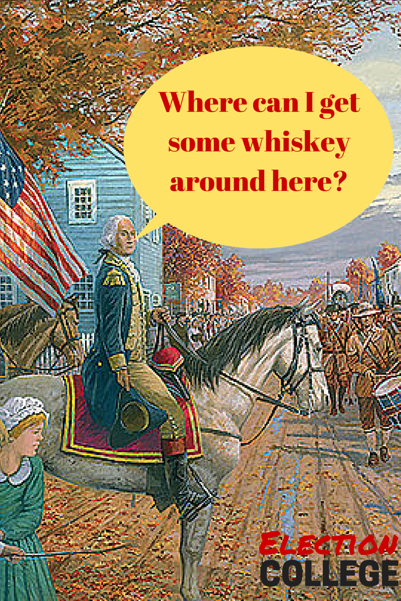 whiskey rebellion It's exactly what you might think – it involved whiskey, and it certainly involved a  rebellion oh, and don't mess with the constitution.
