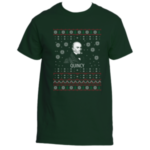 John Quincy Adams Ugly Christmas Sweater T-Shirt