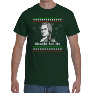 Alexander Hamilton Ugly Christmas Sweater T-Shirt