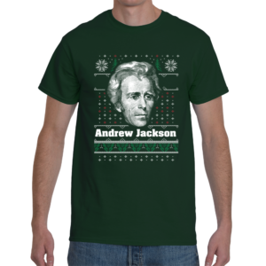 Andrew Jackson Ugly Christmas Sweater T-Shirt